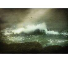 Stormy Seas  Photographic Print