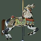 Carousel Paint Horse by Cindy Longhini