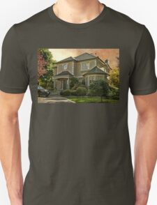 Stucco House in Autumn Unisex T-Shirt