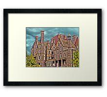 Boldt Castle On Heart Island, Thousand Islands, NY Framed Print