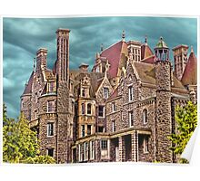 Boldt Castle On Heart Island, Thousand Islands, NY Poster