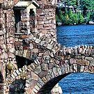 Boldt Castle Power House Close Up, Thousand Islands, NY by Melissa Carlini