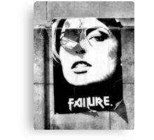 Failure Canvas Print