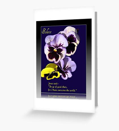 Solace - Bereavement Card Greeting Card
