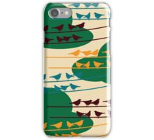 Bird in the cloud iPhone Case/Skin