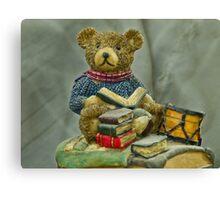 Teddy (Macro)  Canvas Print