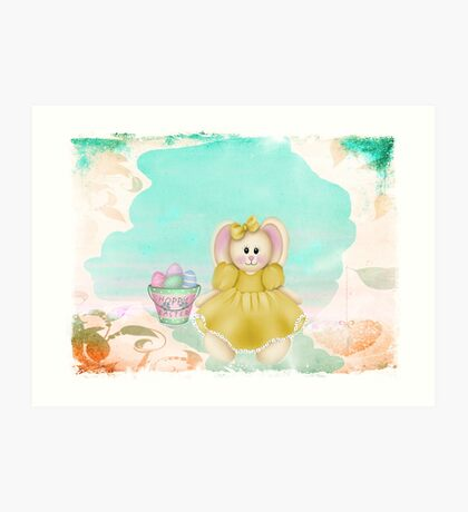 Hoppy Easter ~ Art Print