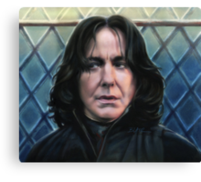 Snape's Bad Day Canvas Print