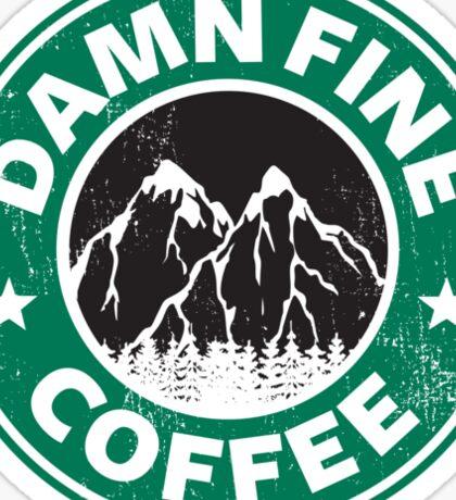 Damn Fine Coffee Sticker