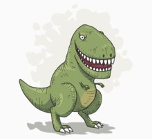 Dinosaur T Rex by tashtee