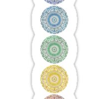 seven chakras Sticker