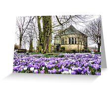St Chads Church  Greeting Card