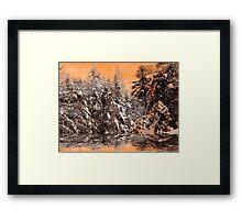 Fiery Wind ! Framed Print
