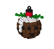 Lego Pudding Bauble by jacqs