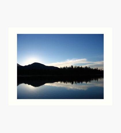 Sunrise at Mirror Lake Art Print