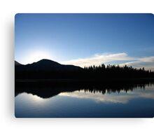 Sunrise at Mirror Lake Canvas Print