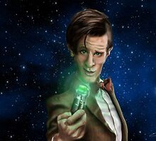 11th Doctor Caricature  by Epopp300