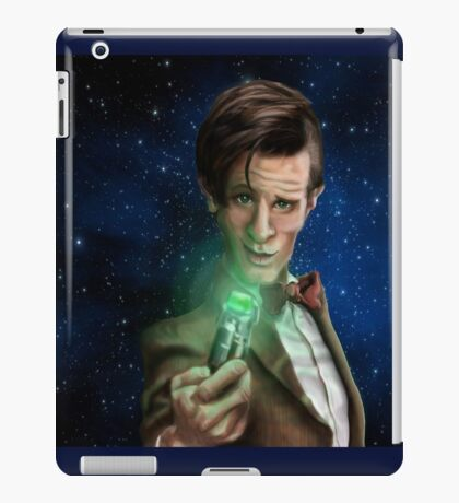 11th Doctor Caricature  iPad Case/Skin