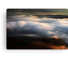 Clouds not on the sky Canvas Print