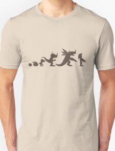 The Evolution of Monsters 1 (Light Version) T-Shirt