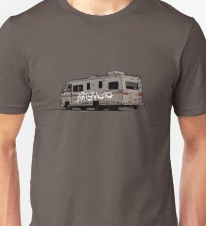 Artsmoto RV Dripping Paint (white) Unisex T-Shirt