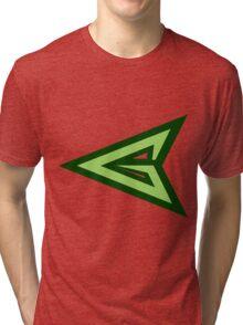 green arrow logo Tri-blend T-Shirt