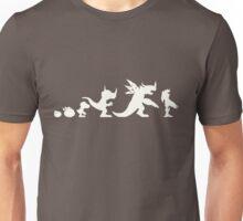 The Evolution of Monsters 1 (Dark Version) Unisex T-Shirt