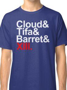 cloud&tifa&barret&xiii Classic T-Shirt
