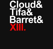 cloud&tifa&barret&xiii Unisex T-Shirt