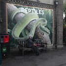 London Zoo/Reptiles House/Poster(2 of 3) -(190212)- digital photo by paulramnora