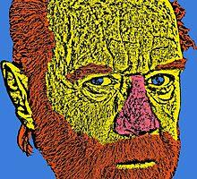 George Carlin by CultureCloth