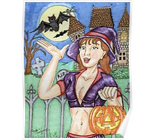 Trick Or Treat Witch 2011 Poster