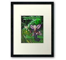 DarkRubyMoon Wizard Framed Print