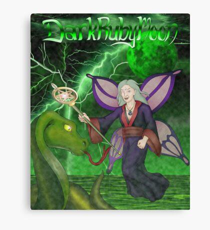 DarkRubyMoon Wizard Canvas Print