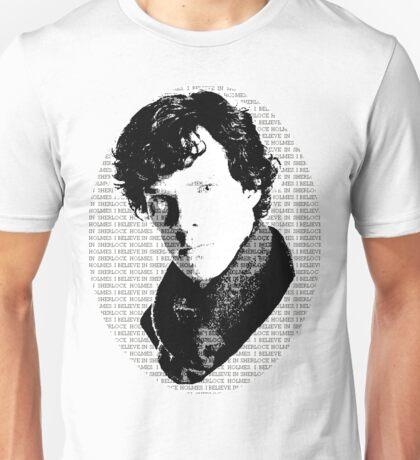 Believe in Sherlock propaganda Unisex T-Shirt