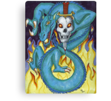 Dragon Sword Vers 2 Canvas Print