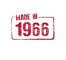 Made in 1966 Photographic Print