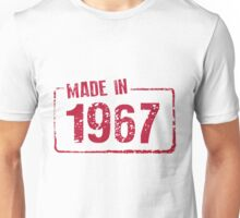 Made in 1967 Unisex T-Shirt