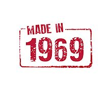 Made in 1969 Photographic Print