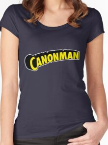 Canonman Women's Fitted Scoop T-Shirt