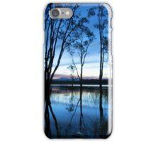 Sunset over Ewen Maddock Dam iPhone Case/Skin