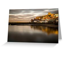 Whitby: A Small Drinking Town With A Big Fishing Problem Greeting Card