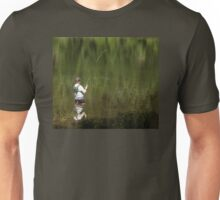 Fly Fishing In Paradise Unisex T-Shirt