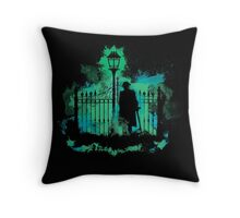 Gaspar at The End of Time Throw Pillow