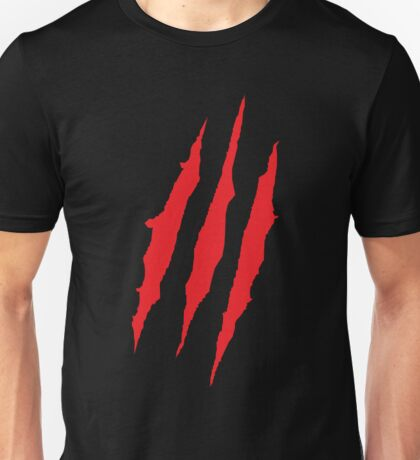 Wolverine Claw Marks Unisex T-Shirt