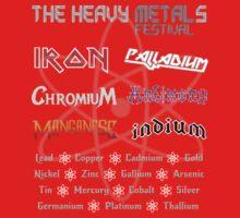 The Heavy Metals Festival Baby Tee