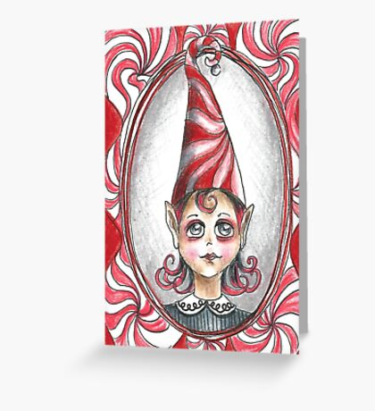Christmas - Peppermint Twist Greeting Card