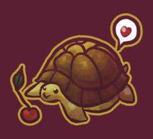 Cherry Turtle T-shirt by SaradaBoru