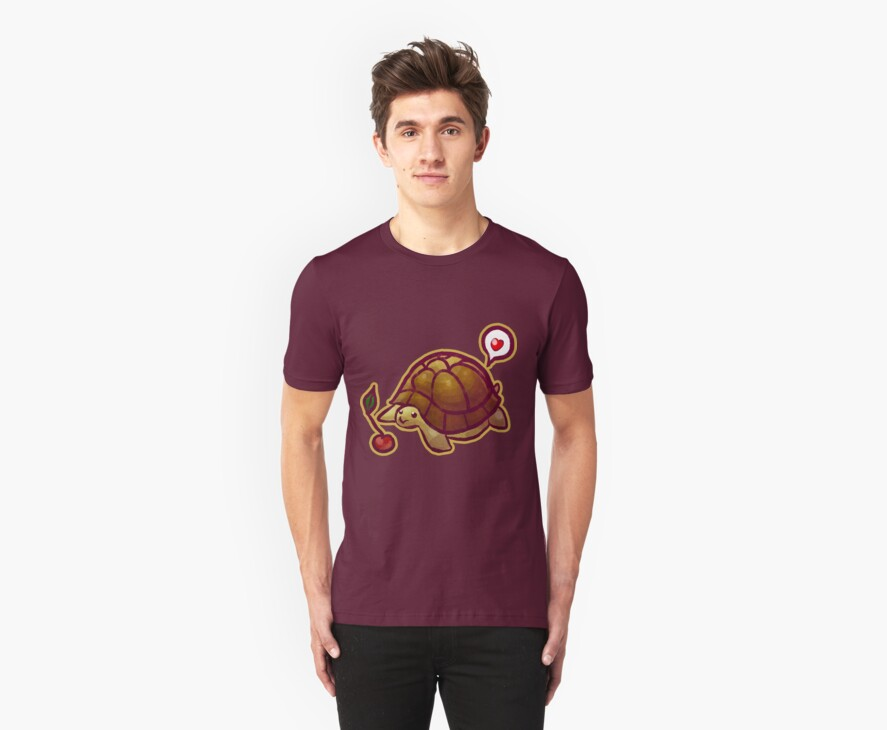 Cherry Turtle T-shirt by SaradaBoru