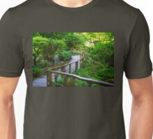 Stairs - Japanese Garden - Butchart Garden Unisex T-Shirt